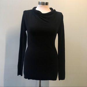 Trouvé (Nordstrom) black funnel neck sweater XS